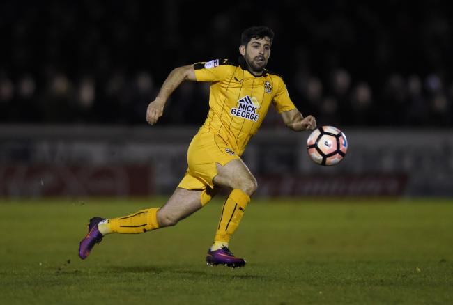 Piero Mingoia in action for Cambridge United. Picture: Action Images
