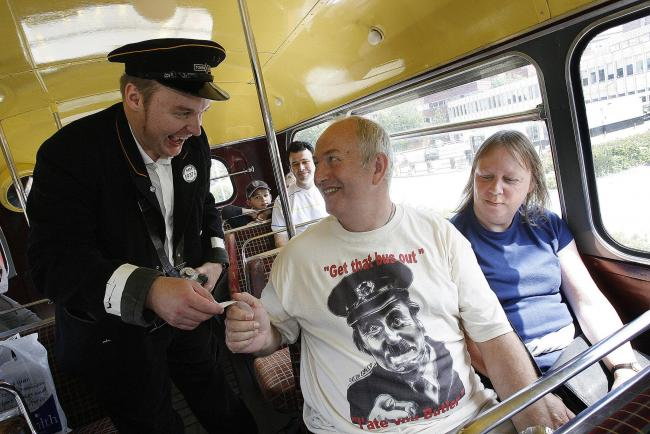 Fans have been treated to On the Buses tours in the past. Pictured is one in Borehamwood in 2008