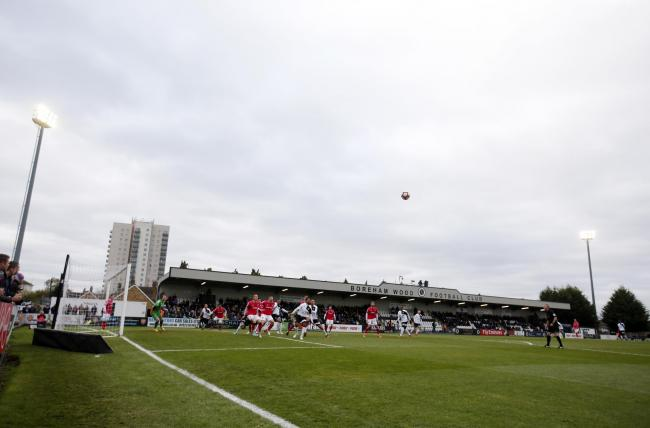 General view of Boreham Wood's Meadow Park. Picture:  Action Images
