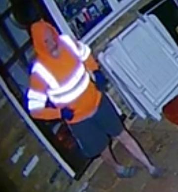 Do you recognise this person? Police believe they may have information which can help with their enquiries. Credit: Herts Police
