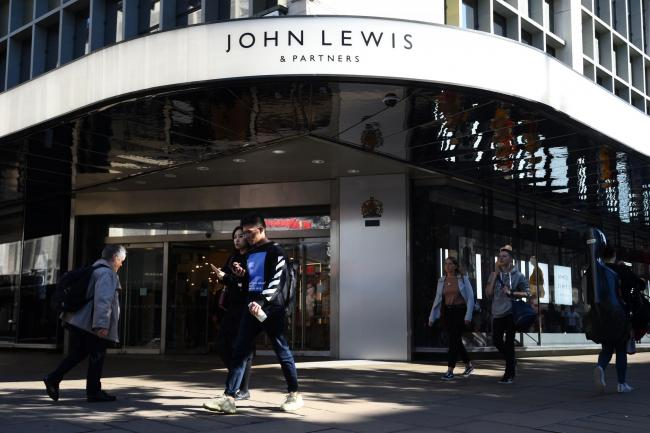 A John Lewis department store