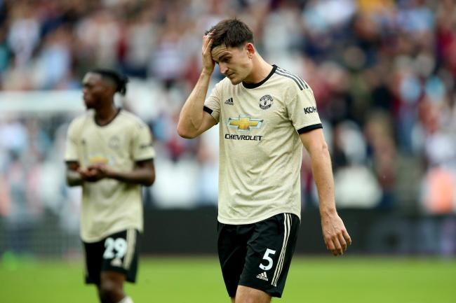 Manchester United slumped to a deserved defeat at West Ham