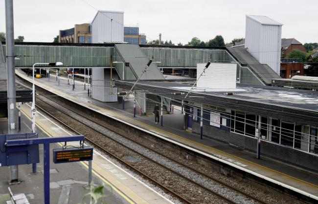 General view of St Albans City station