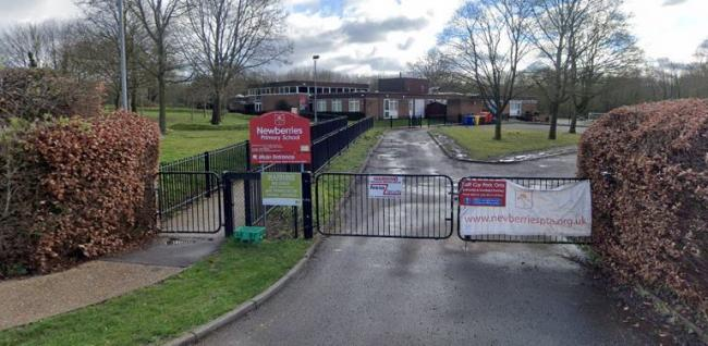 Newberries Primary School in Radlett