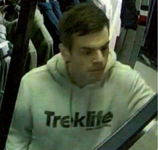 Police believe this man pictured can help with their enquiries. Credit: Herts Police