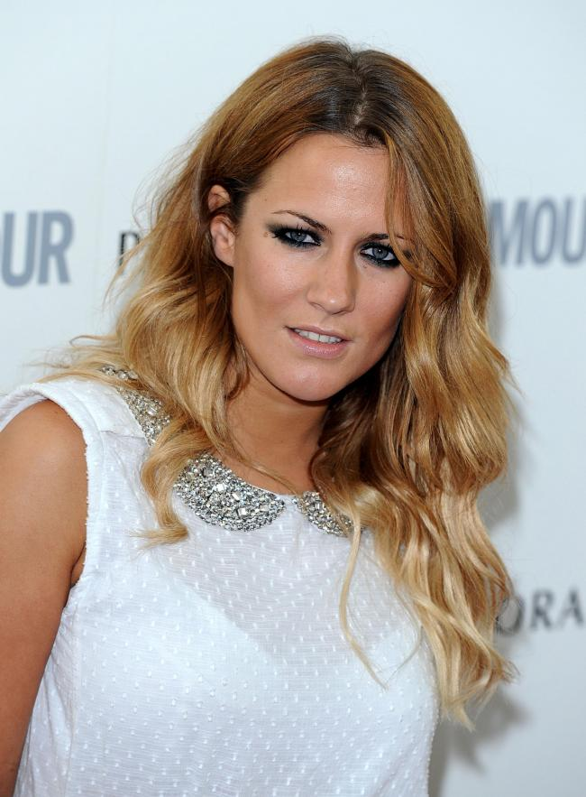 Caroline Flack, who has died at the age of 40. Credit: PA