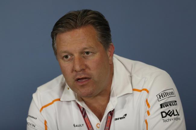 McLaren's Zak Brown has a warning about the state of F1