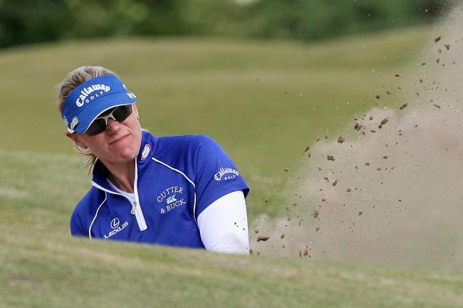 Annika Sorenstam was due to co-host the event in Stockholm