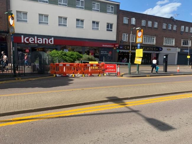 The service closed near Iceland, which also includes Dipa News in the shopping parade