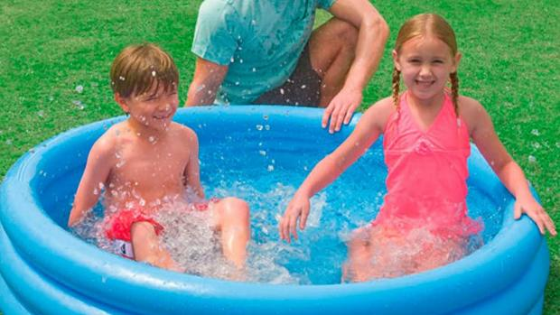 Borehamwood Times: Lower your body temp with this inflatable pool. Credit: Intex