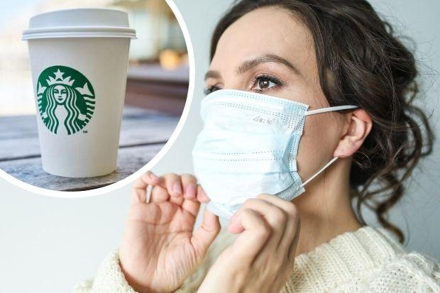 Face mask rules update: You DO have to wear one if you're getting coffee or food. Picture: Newsquest