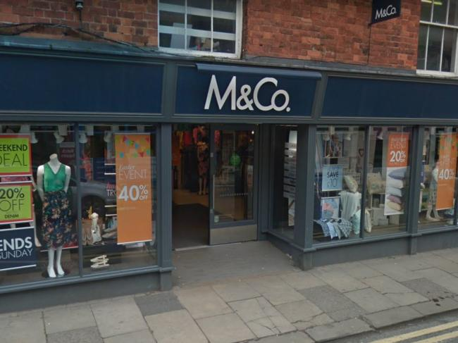 M&Co to close 47 shops and cut 380 jobs across the country in restructuring plan