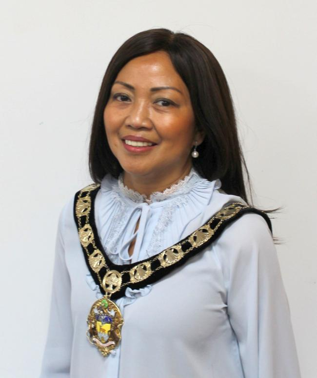The Mayor of Hertsmere, Cynthia Barker, has died