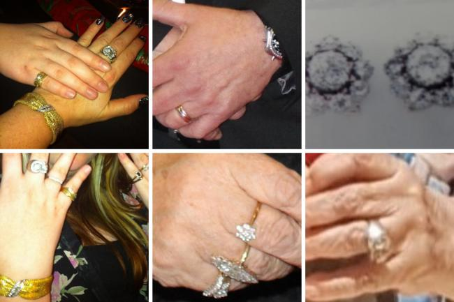Police are trying to find these items of jewellery
