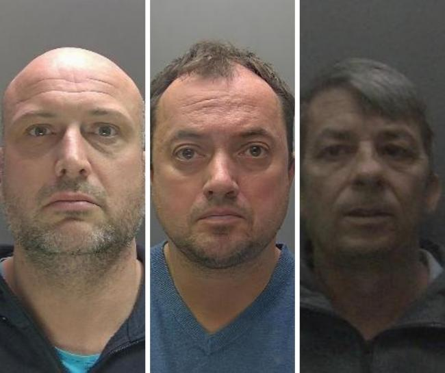 Left to right: Philip Blacburn, Justin Terry, Martin Walsh (Photo: Hertfordshire Constabulary)