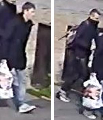 Police believe these two people can help with their enquiries. Credit: Herts Police