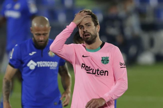 Barcelona were beaten at Getafe