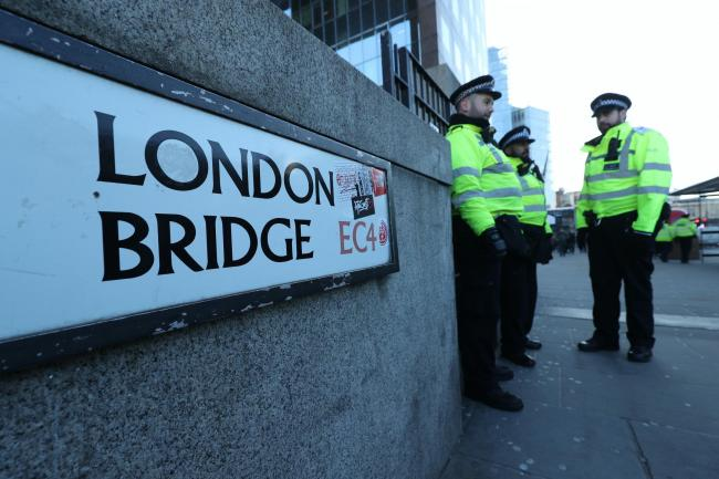 Incident on London Bridge