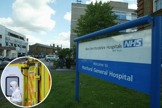 NHS England figures show 389 people had died in hospital at West Hertfordshire Hospitals NHS Trust. Photo: Radar