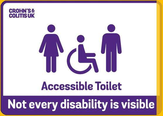 Not every disability is visible. Photo: www.noteverydisabilityisvisible.org.uk