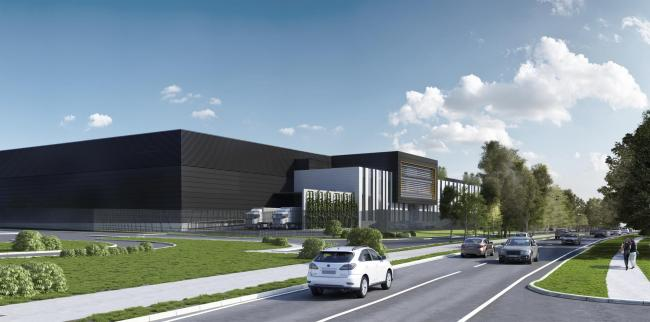 CGI of the proposed data centre