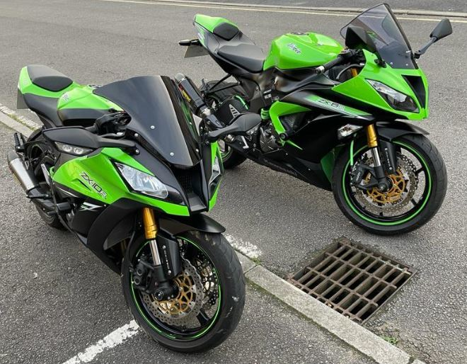 Have you seen these motorbikes?