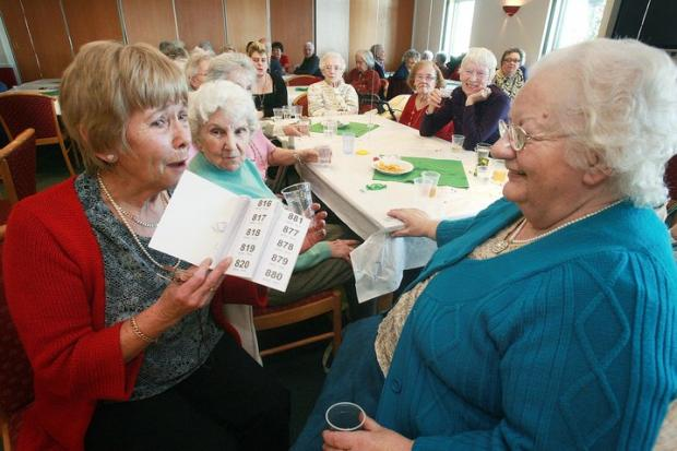 Cash for seniors club