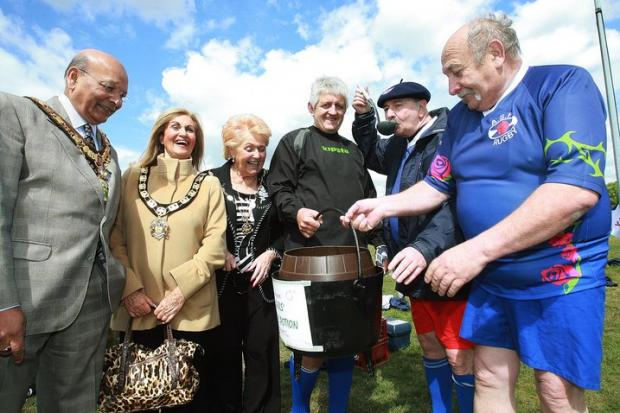 Borehamwood Times: A previous twin-town celebration event