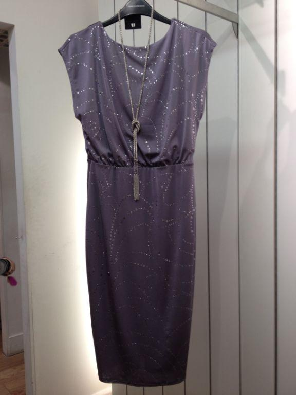 Sparkly dress £35 from Dorothy Perkins