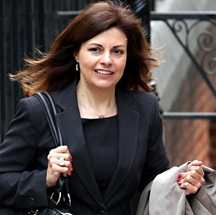 Former Metropolitan Police detective and Crimewatch contributor Jacqui Hames arrives to give evidence to the Leveson Inquiry