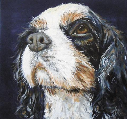 Dog by Janet Gardner