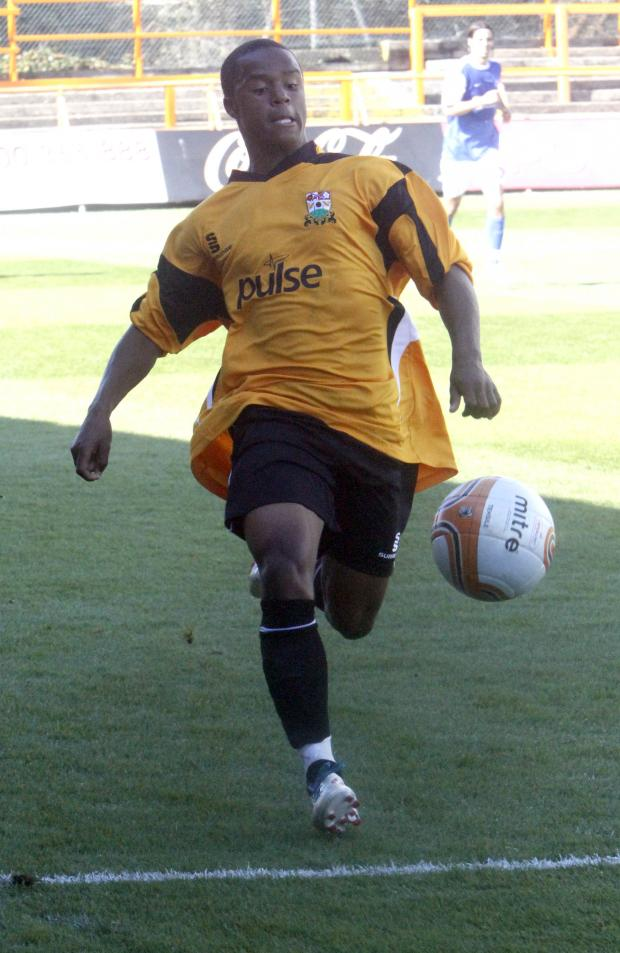 Barnet's Mauro Vilhete spent time on loan at Boreham Wood last season Picture: Peter Beal