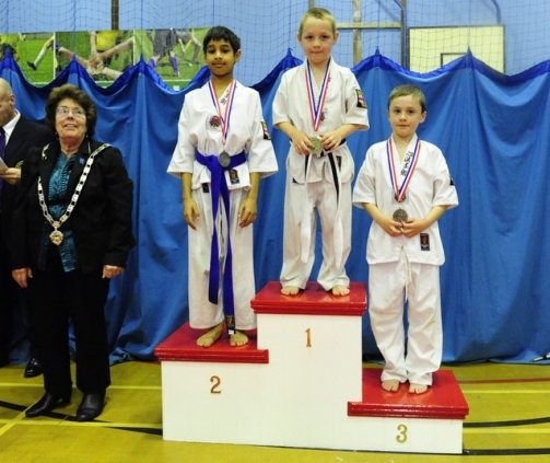 The Ishin Ryu Ju-Jitsu Hertfordshire Infant & Junior Championships were held in Borehamwood