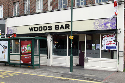 Woods Bar lost its license last year