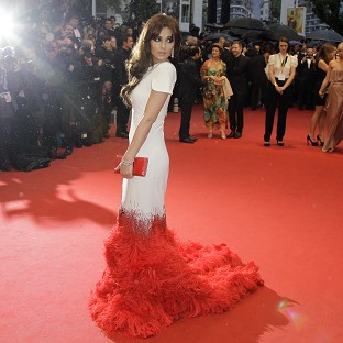 Cheryl Cole dazzled on the red carpet in Cannes