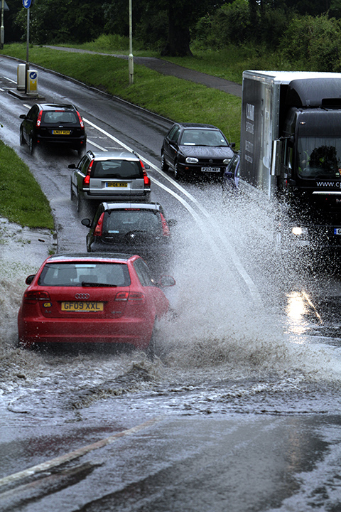Motorists warned as more wet weather is forecast