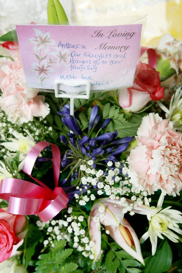 Borehamwood Times: Tributes paid to Antonia Attuh outside her home