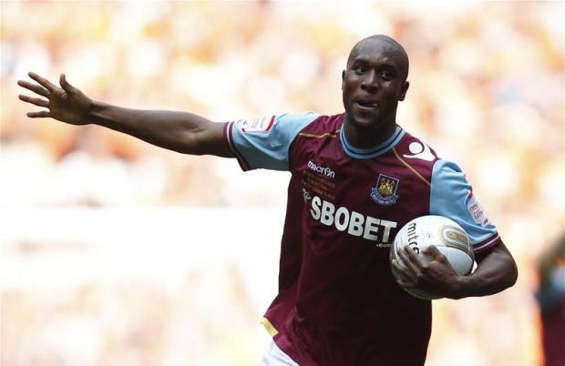 Carlton Cole is set to feature for West Ham. Picture: Action Images