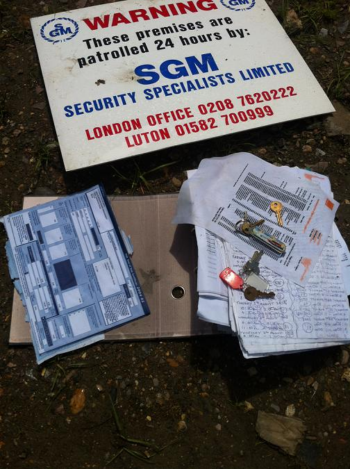 Confidential documents found among dumped rubbish in fields
