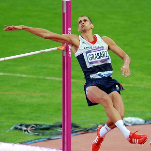Grabarz grabs high jump bronze