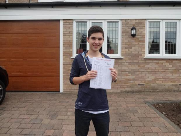 16-year-old achieves nine A*s in GCSEs