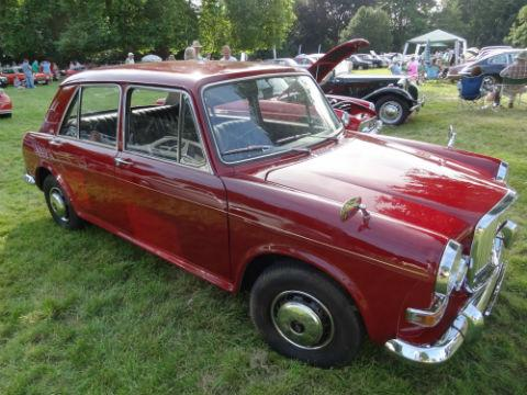 Diane Lee bought a 1970s Vanden Plas Princess last month