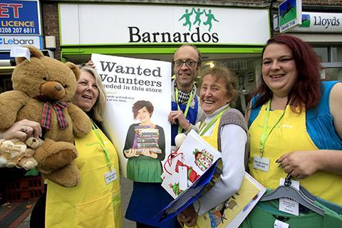 Volunteers needed for charity shop