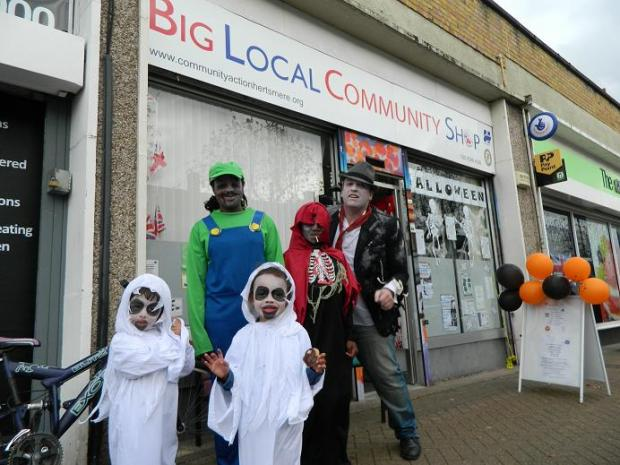 Spooky creatures storm Borehamwood at party