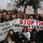 Borehamwood Times: Rail freight petition reaches halfway mark