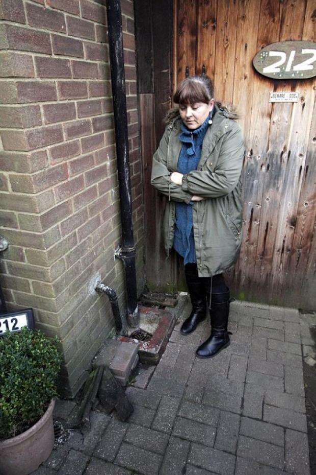 Water board to investigate after families left knee-deep in sewage
