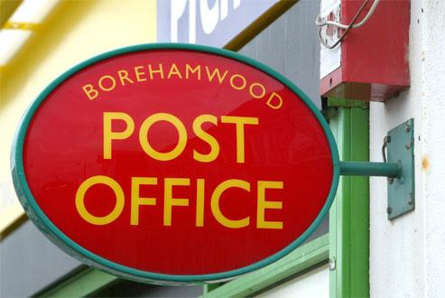 Manor Way Post Office, in Borehamwood, will close on September 11 as part of a major modernisation programme