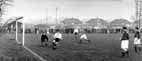 Boreham Wood v Rickmansworth at their old ground in Eldon Avenue in November 1956