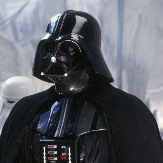 Darth Vader, played by Dave Prowse