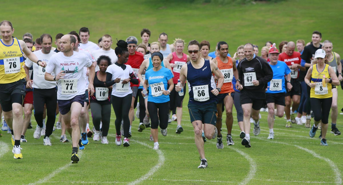 Borehamwood Athletic Club will host their annual 10k race and fun run this morning as part of the 58th civic festival.